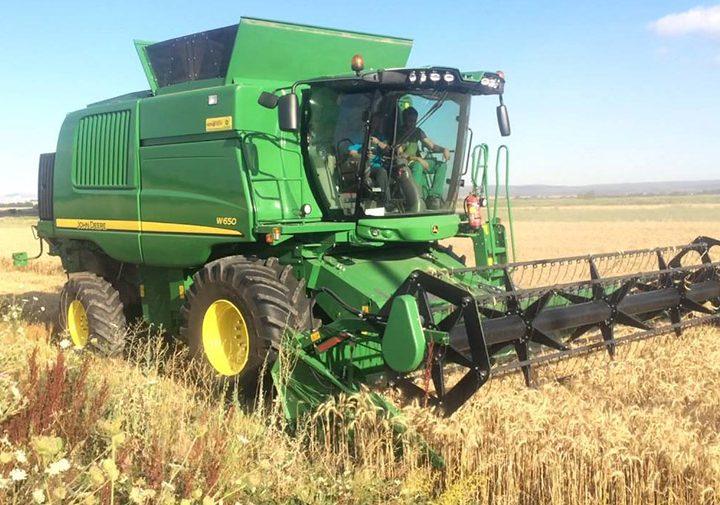 """Закупуване на техника за прибиране на реколта – зърнокомбайн """"John Deere W 650"""""""
